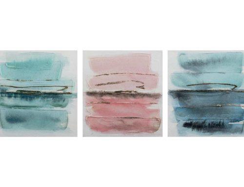 Watercolor – 30 x 30 cm (Set 3 pezzi)